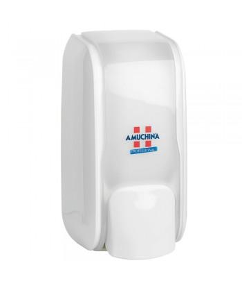 Dispenser manuale da appendere, per dosaggio di gel e saponi