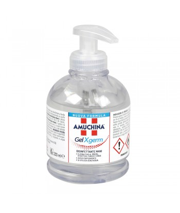 Amuchina Gel X-Germ, disinfettante mani, flacone con erogatore - 250 ml