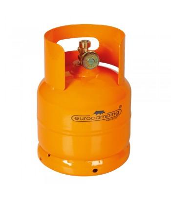 """Bombola GPL, uscita rubinetto verticale, attacco W20 x 1/14"""" sx maschio - 1 Kg (2,5 L)"""