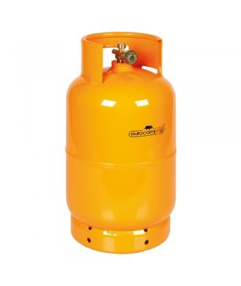 """Bombola GPL, uscita rubinetto verticale, attacco W20 x 1/14"""" sx maschio - 5 Kg (12 L)"""