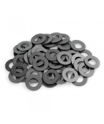 Set 50 pezzi guarnizione in gomma, Ø 14x26x1.5 mm