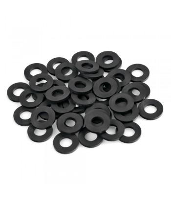 Set 50 pezzi guarnizione in gomma, Ø 10,2x20,3x2,3 mm