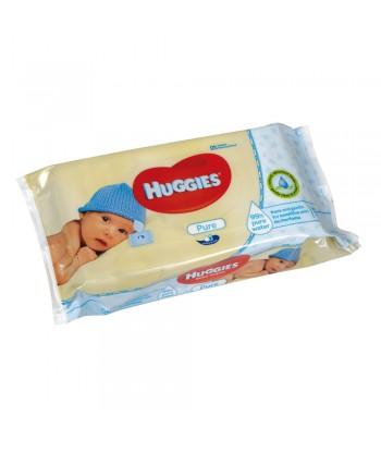 Salviette umidificate bimbi, 1 confezione da 56 salviette