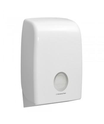 Dispenser in plastica per asciugamani in carta intercalati