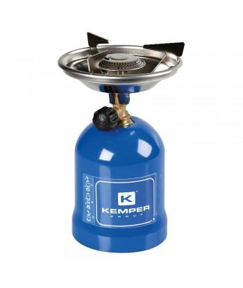 Fornello a gas portatile in metallo, accensione manuale