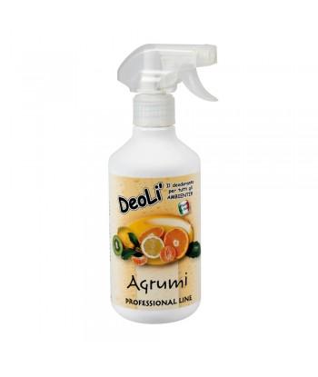 Deolì, deodorante professionale - 500 ml - Agrumi