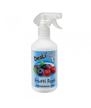 Deolì, deodorante professionale - 500 ml - Frutti rossi