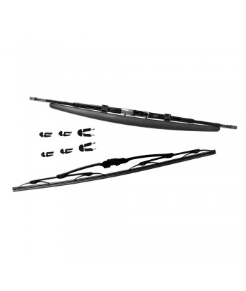 Kit spazzole tergicristallo - 55,3 spoiler  + 55 curved - 2 pz