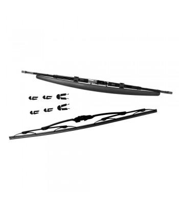 Kit spazzole tergicristallo - 61 spoiler  + 61 standard - 2 pz