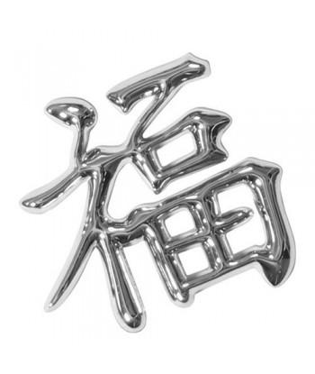 Emblema 3D cromato - Lucky