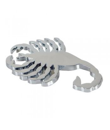 Emblema 3D cromato - Scorpion