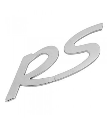Emblema 3D cromato - RS
