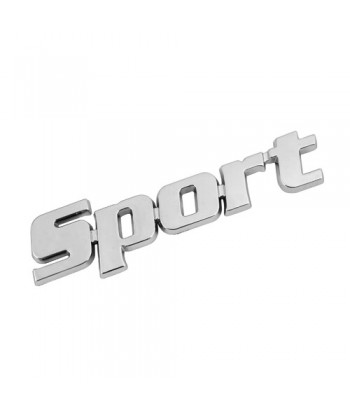 Emblema 3D cromato - Sport