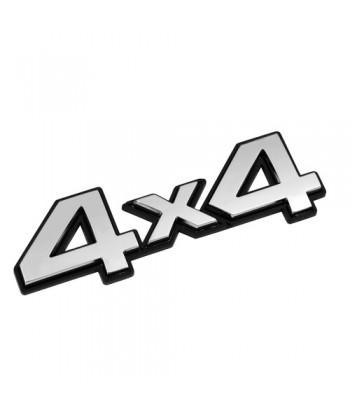 Emblema 3D cromato - 4x4