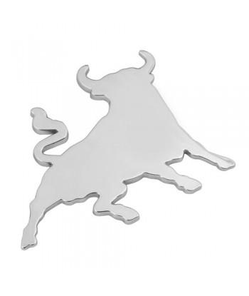 Emblema 3D cromato - Bull