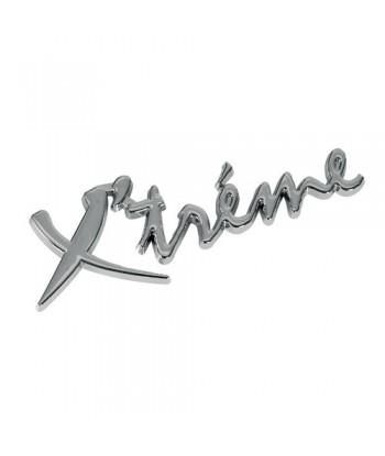 Emblema 3D cromato - Xtreme