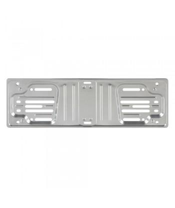 Portatarga anteriore in alluminio anodizzato