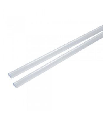 Door-Strip, strisce salvaporta adesive - 2 x 65 cm - Trasparente