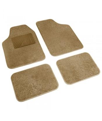 Cosmo, serie tappeti in moquette universali, 4 pz - Beige