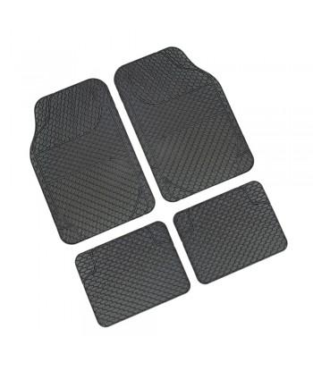 Drena 4, serie tappeti universali 4 pezzi - Grigio
