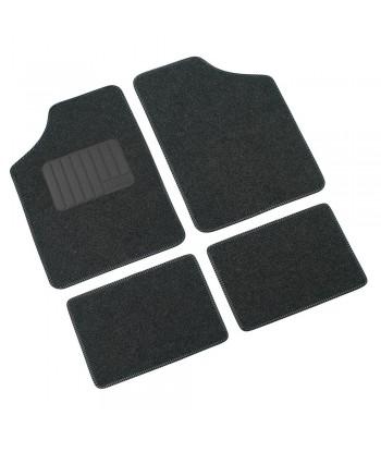 Supra, serie tappeti 4 pezzi - A - Antracite