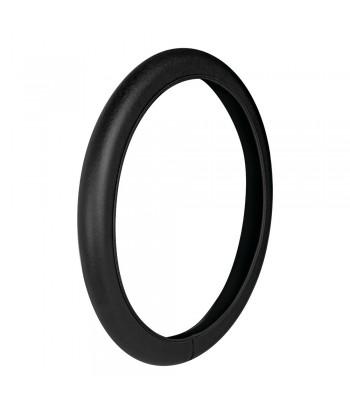 Skin-Cover, coprivolante elasticizzato in vera pelle - S - Ø 35/37 cm