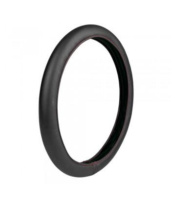 Skin-Cover, coprivolante elasticizzato in Skeentex - Nero/Rosso - M - Ø 38/40 cm
