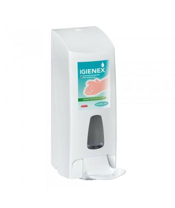 Igienex, dispenser manuale da appendere, per dosaggio gel mani