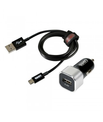 Kit 2 in 1 Micro Usb - Fast Charge - 12/24V