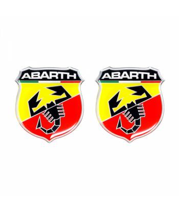 Abarth Adesivi 3D 30 mm
