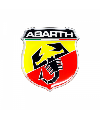 Abarth Adesivi 3D 50 mm