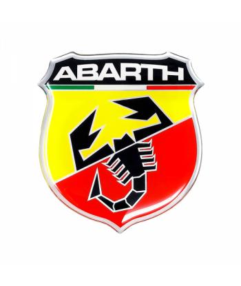 Abarth Adesivi 3D 80 mm