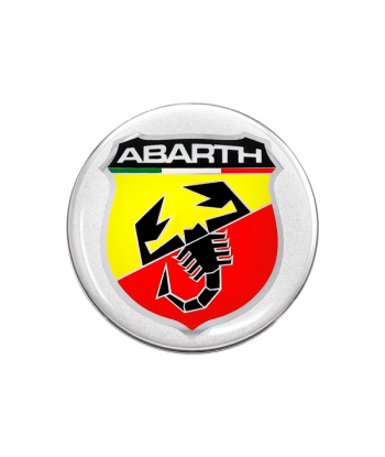 Abarth Adesivi 3D Ø 44 mm