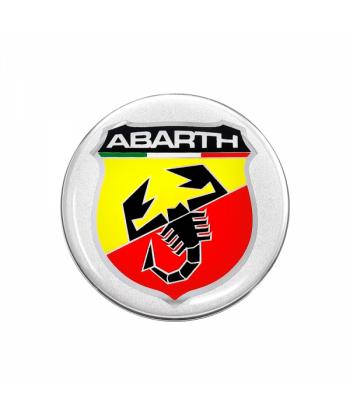 Abarth Adesivi 3D Ø 50 mm