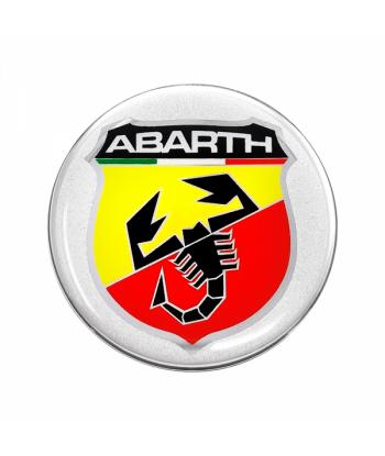 Abarth Adesivi 3D Ø 75 mm