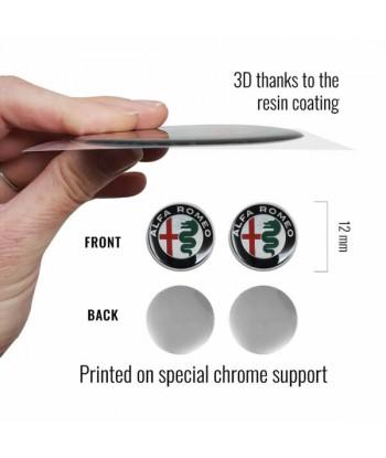 Alfa Romeo Adesivi 3D Logo...