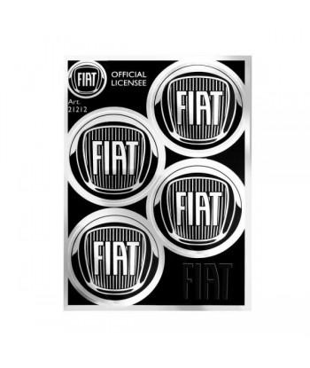 Fiat Adesivi Chrome Tabs