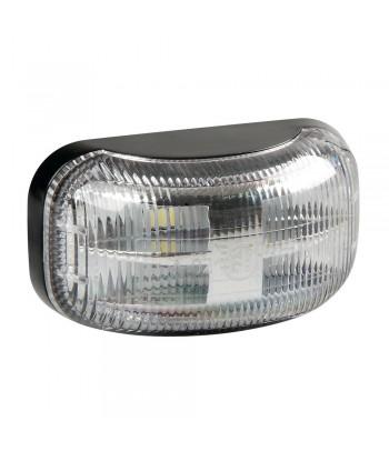 Luce ingombro a 4 Led, montaggio in superficie, 10/30V - Bianco