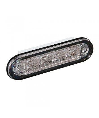 Premium, luce a 4 led, montaggio ad incasso, 12/24V - Bianco