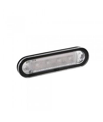 Premium, luce a 4 led, montaggio ad incasso, 12/24V - Arancio