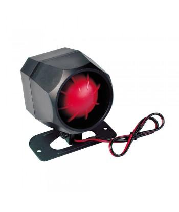 Sirena elettronica 12V - 1,2A - 125 dB