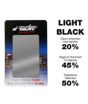 PELLICOLA VETRI LIGHT BLACK...