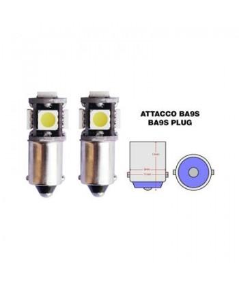 BA9S LWC KIT 2 LAMPADINE A...