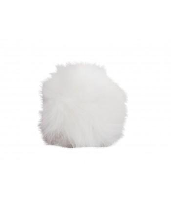 Copripomello Fluffy Fur bianco