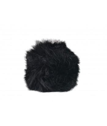 Copripomello Fluffy Fur nero