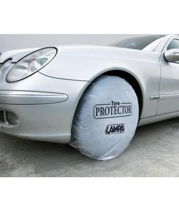 Protezione ruota in PE, dispenser 200 pz