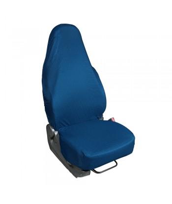 Easy Cover, coprisedile anteriore elasticizzato - Blu