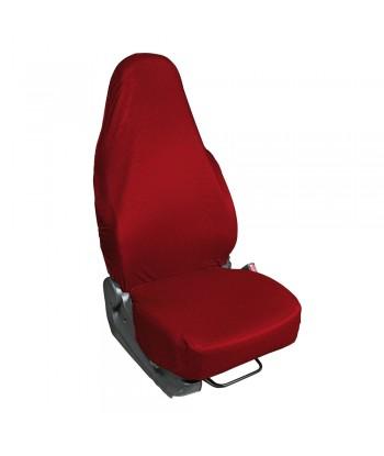 Easy Cover, coprisedile anteriore elasticizzato - Rosso
