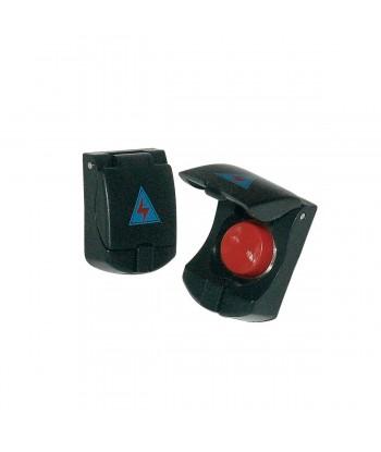 Pulsante Cover button black
