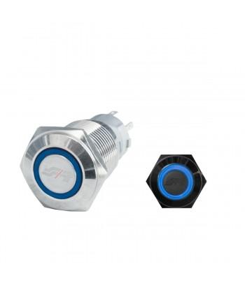Interruttore led blu
